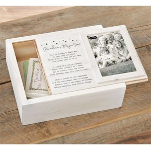 Mud Pie GRANDMA KEEPSAKE BOX