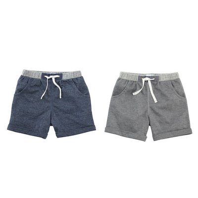 Mud Pie FRENCH TERRY BOY SHORTS