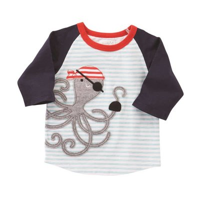 Mud Pie SHARK AND OCTOPUS TSHIRTS
