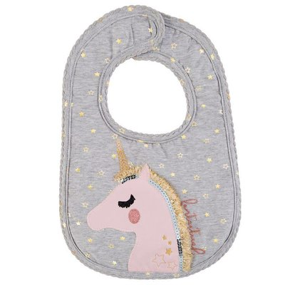 Mud Pie GLITTER BIB