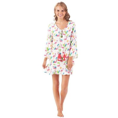Mud Pie TENLEY TASSEL COVER-UP