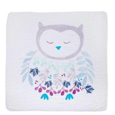 aden+anais thistle-owlish classic dream blanket