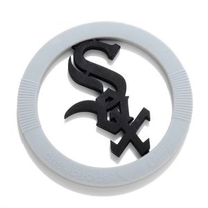 CHEWBEADS MLB GAMEDAY TEETHER. White SOX