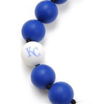 CHEWBEADS MLB GAMEDAY NECKLACE.KC ROYALS