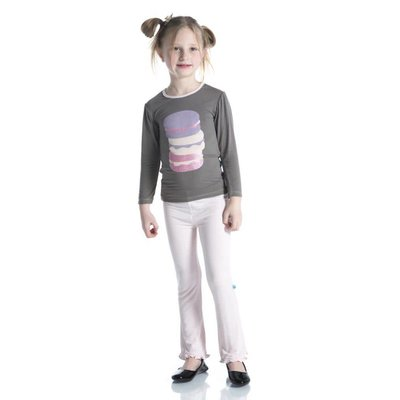 Kickee Pants Long Sleeve Piece Print Puff Tee