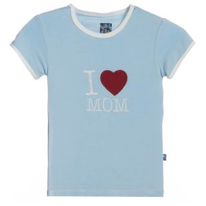 Kickee Pants Pond I Love Mom Tee