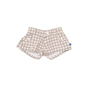 Kicky Pants CHECKER SHORTS-GIRL.6Y