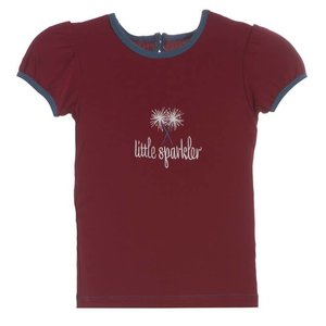 Kickee Pants Little Sparkler Puff Tee
