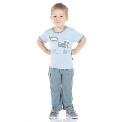 Kickee Pants Short Sleeve Piece Print Tee