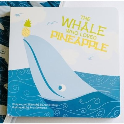 Kickee Pants Book (The Whale Who Loved Pineapple - One Size)