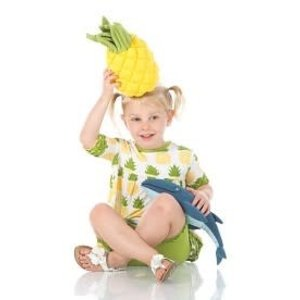 Kickee Pants Plush Toy (Pineapple - One Size)