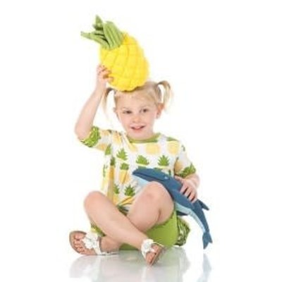 Kickee Pants Plush Toy (Pineapple - One Size)