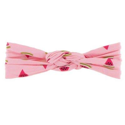 Kickee Pants Print Knot Headband (Lotus Watermelon - One Size)