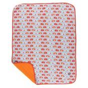 Kickee Pants Print Quilted Stroller Blanket (Pond Camper - One Size)