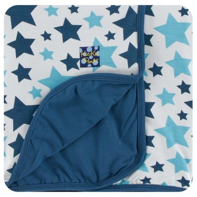 Kickee Pants Print Stroller Blanket (Confetti Star - One Size)