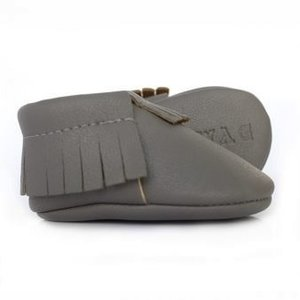 Sweet n Swag Moccasins.Sterling Grey