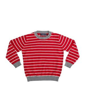 Toobydoo CREW NECK SWEATER.RED.4