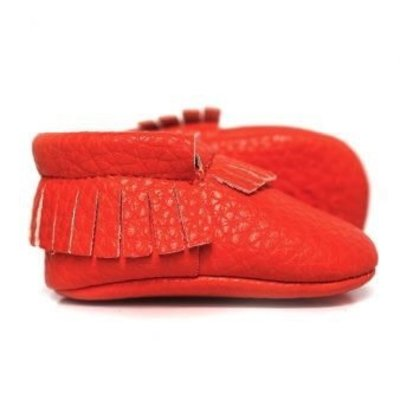 Sweet n Swag Moccasins.Orange Squeeze