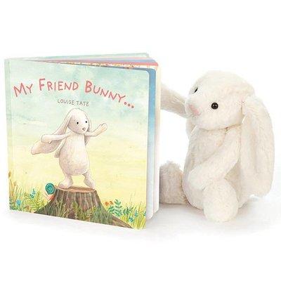 Jelly Cat My Friend Bunny Book
