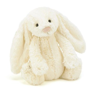 Jelly Cat Bashful Cream Bunny Medium 12""
