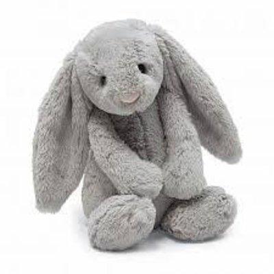 "Jelly Cat Bashful Grey Bunny Medium 12"""