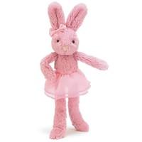 """Jelly Cat Lulu Tutu Pink Bunny 9"""""""