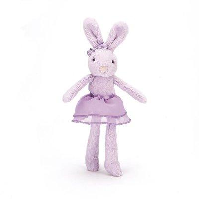 """Jelly Cat Lulu Tutu Lilac Bunny 9"""""""