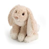 """Jelly Cat Loppy Oatmeal Bunny Medium 10"""""""