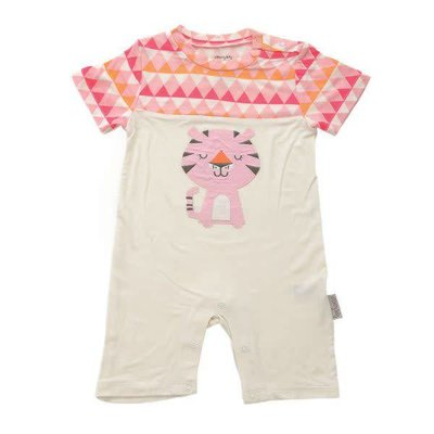 Silkberry baby Short Sleeve Romper