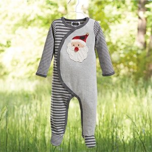 Mud Pie Santa Sleeper.6-9M