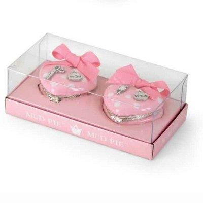 Mud Pie PRINCESS HEART TREASURE BOX SET