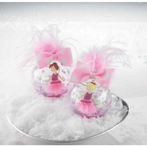 Mud Pie PRINCESS ORNAMENT.BROWN