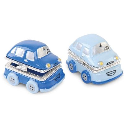 Mud Pie PRINCE CAR TREASURE BOXES