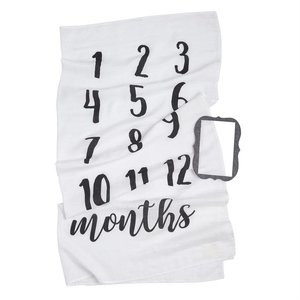 Mud Pie MONTHLY MILESTONE PHOTO BLANKET