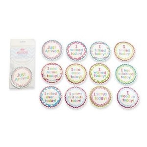 Mud Pie GIRL EVENT MILESTONE STICKERS