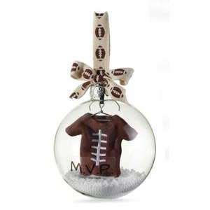 Mud Pie FOOTBALL ORNAMENT