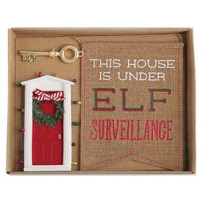 Mud Pie Elf Door Gift Set