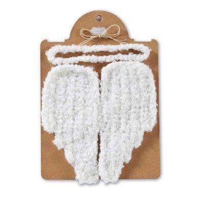 Mud Pie Angel Wing Photo Set