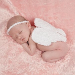 Mud Pie Angel Wing Photo Set