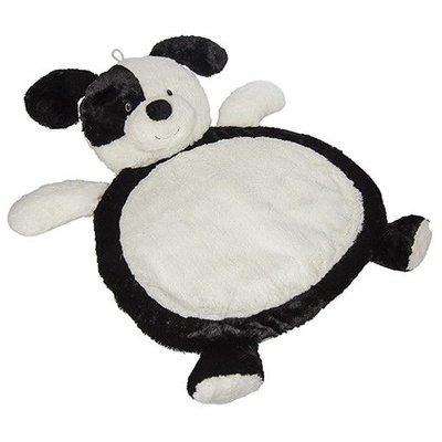 MARY MEYER Black & White Puppy Baby Mat