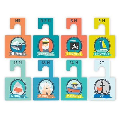 Lucy Darling Little Captain Closet Dividers
