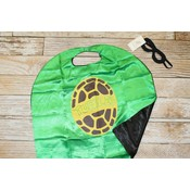 Lincoln&Lexi Turtles Cape & Mask Set