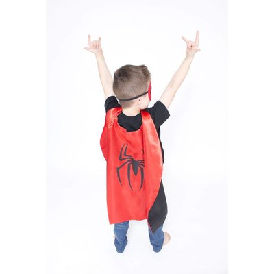 Lincoln&Lexi Superhero Cape & Mask Set-Spider Man