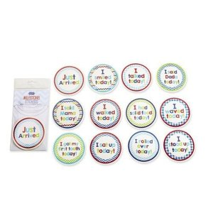 Mud Pie BOY MILESTONE STICKERS