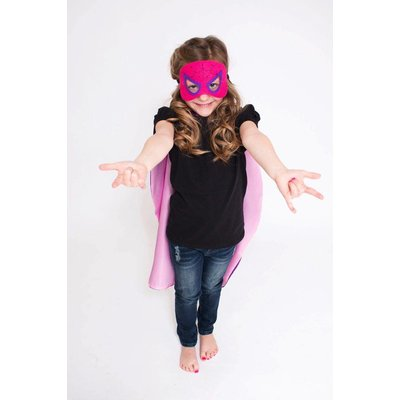 Lincoln&Lexi Superhero Cape & Mask Set-Spider Girl