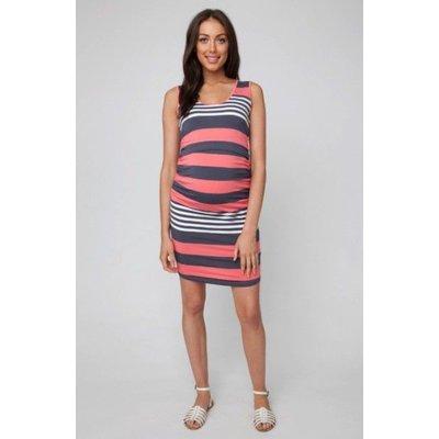 Ripe Maternity Stripe Nursing Dress