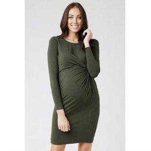 Ripe Maternity Side Knot Jersey Dress