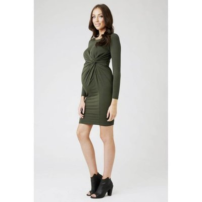 Ripe Maternity Side Knot Jersey Dress