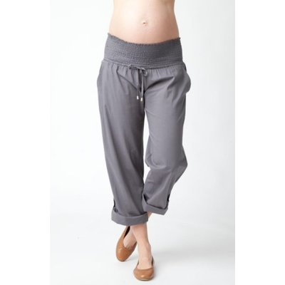Ripe Maternity Philly Cotton Pant-Sulphur