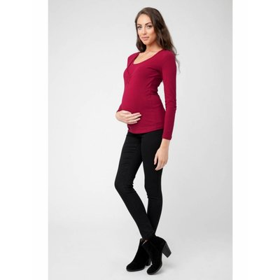 Ripe Maternity Marina Long Sleeve Nursing Top